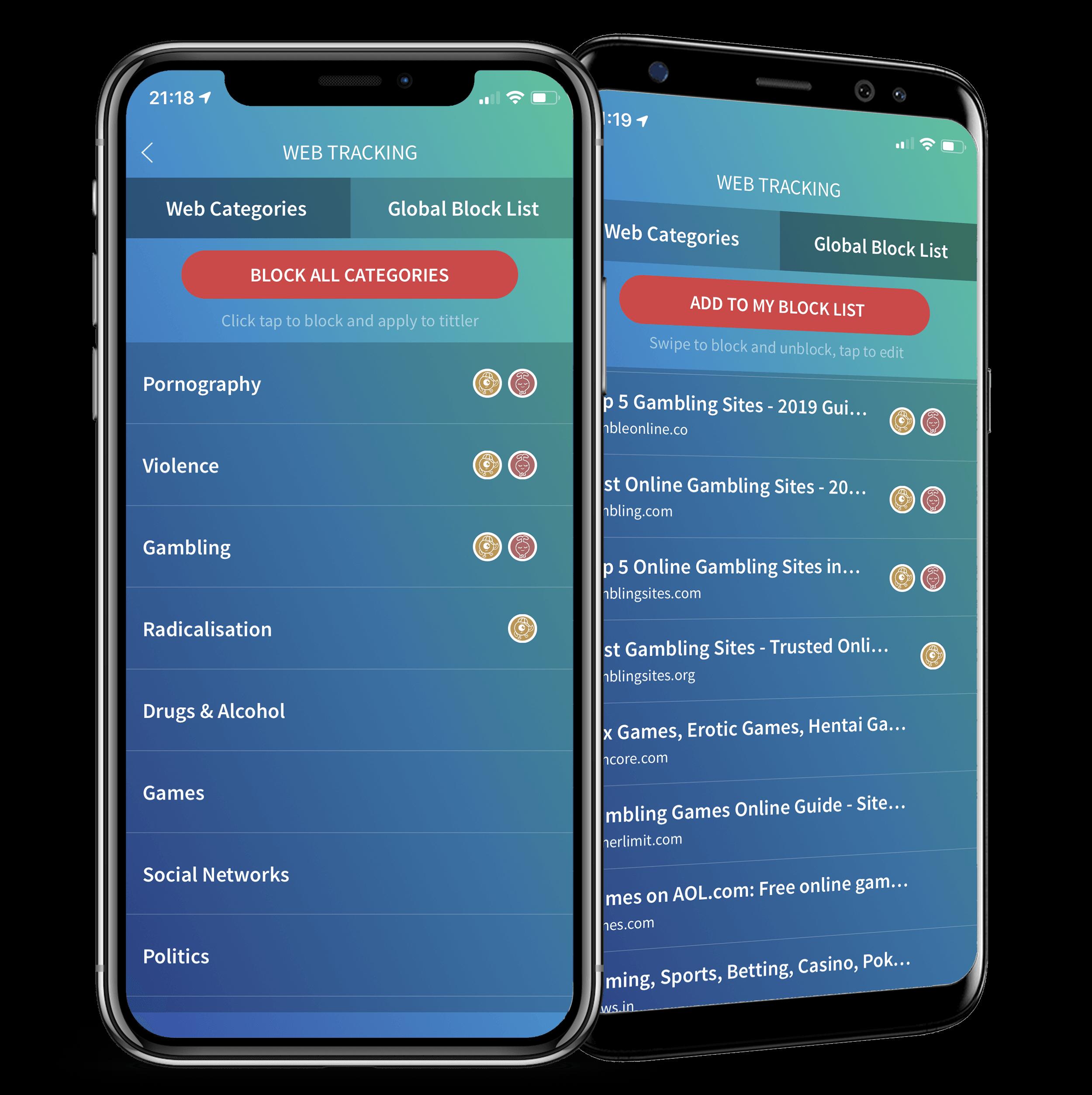 Web-Tracking-comparison