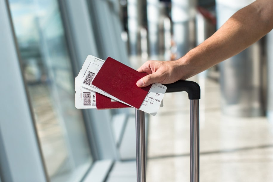 Posting photos of your passport and boarding pass means creating another digital footprint